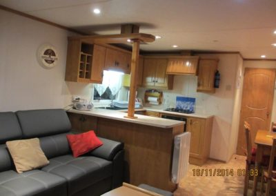 Stay of the mobile home Chalet 6