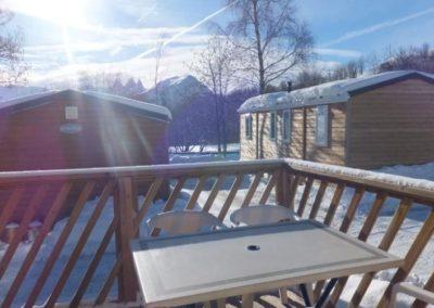 Terrasse chalet Loggia 2 la Toussuire