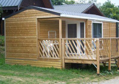 Chalet mobile home Loggia 2
