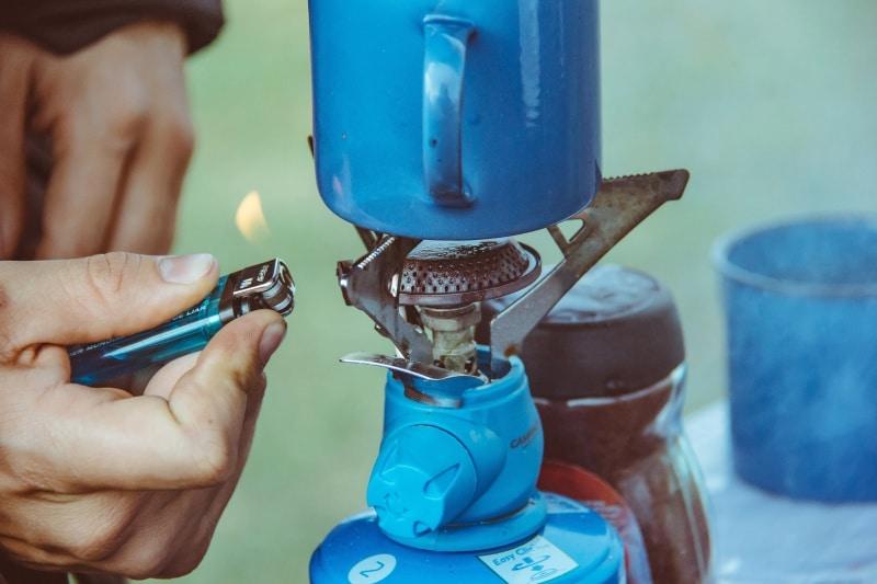La revente de gaz sur le camping caravaneige du Col la Toussuire les Sybelles Maurienne Savoie
