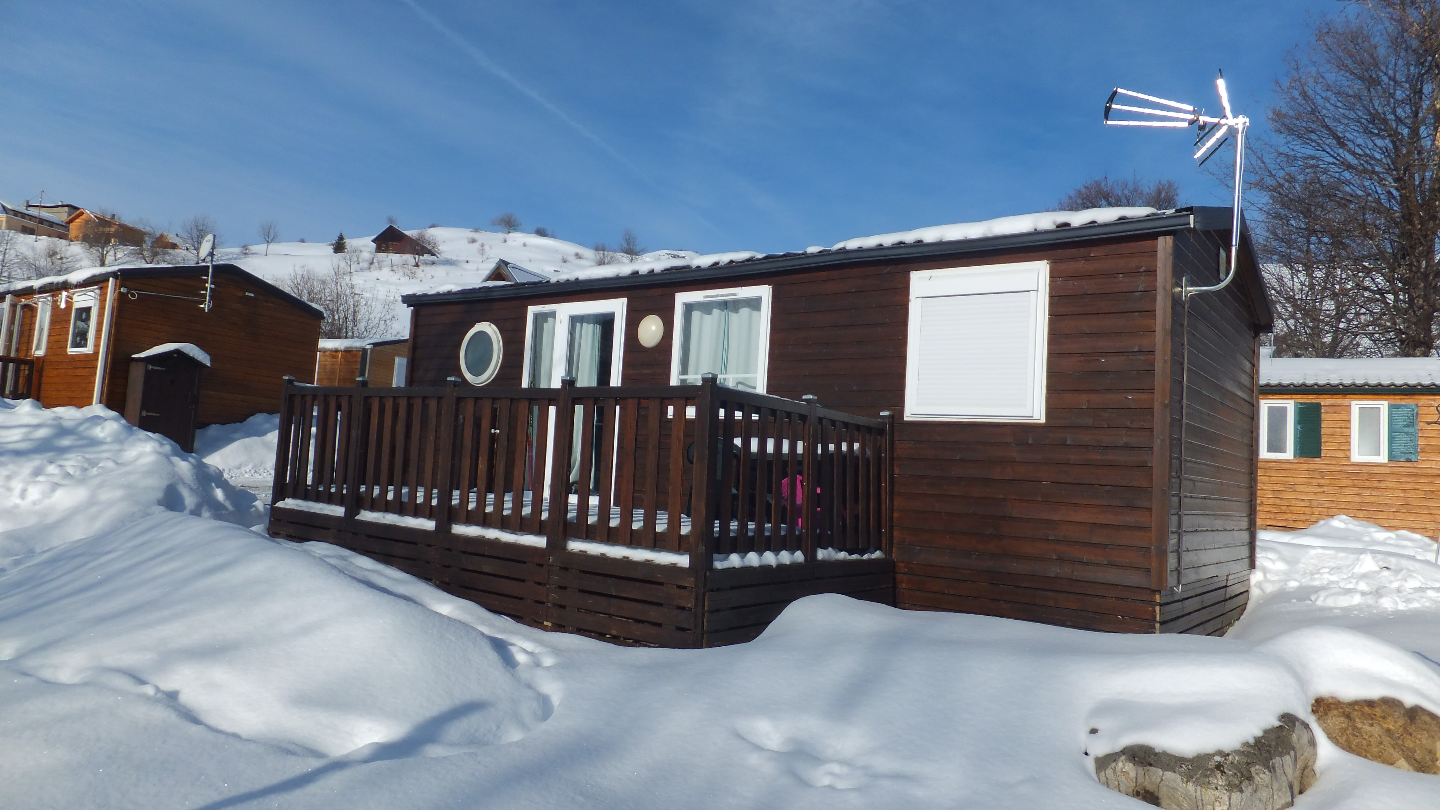 Location chalet O'hara le charvin Camping du Col La Toussuire